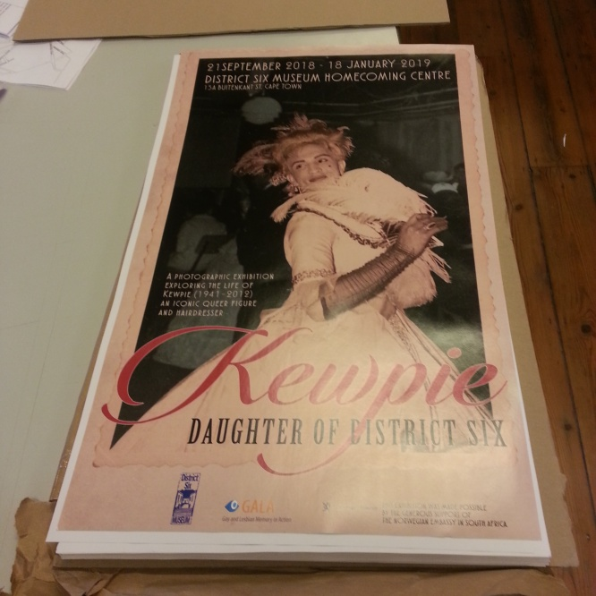 Getting ready for 'Kewpie: Daughter of District Six'