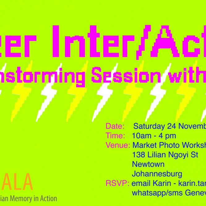 Event: Queer Inter/Action – A Brainstorming Session